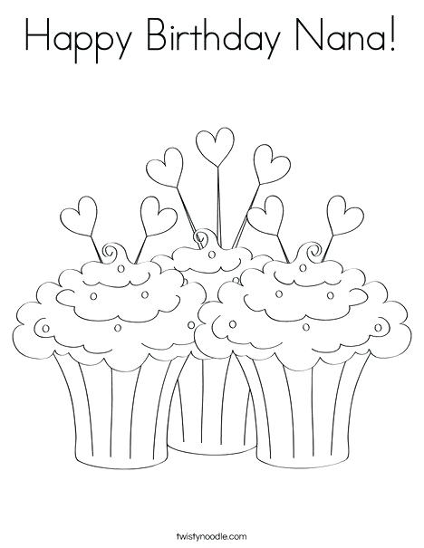 468x605 Coloring Pages Birthday