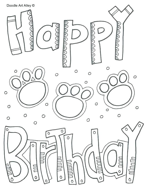 618x800 Happy Birthday Coloring Pages For Teacher
