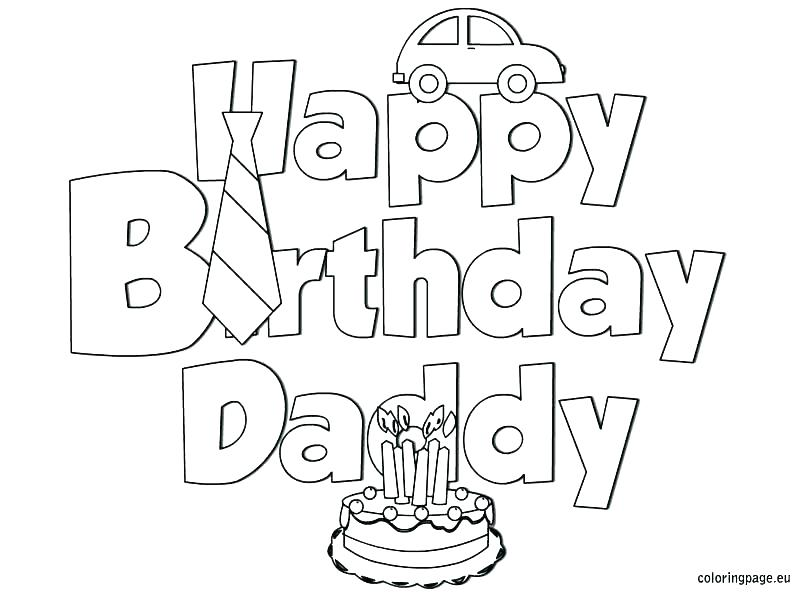 happy birthday papa coloring pages 28