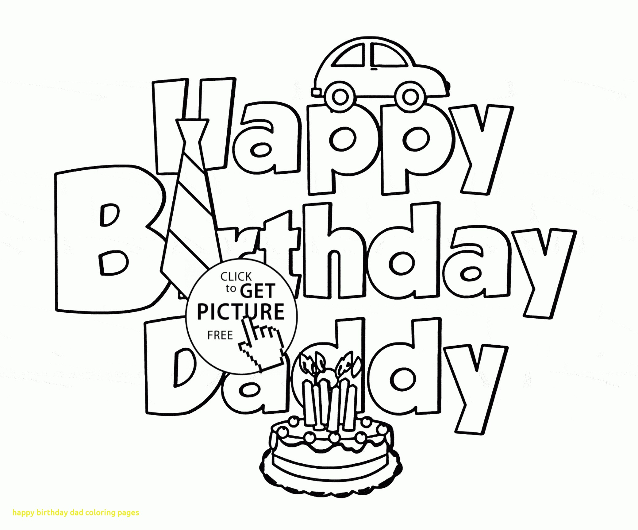 Happy Birthday Papa Coloring Pages At Getdrawings Free Download