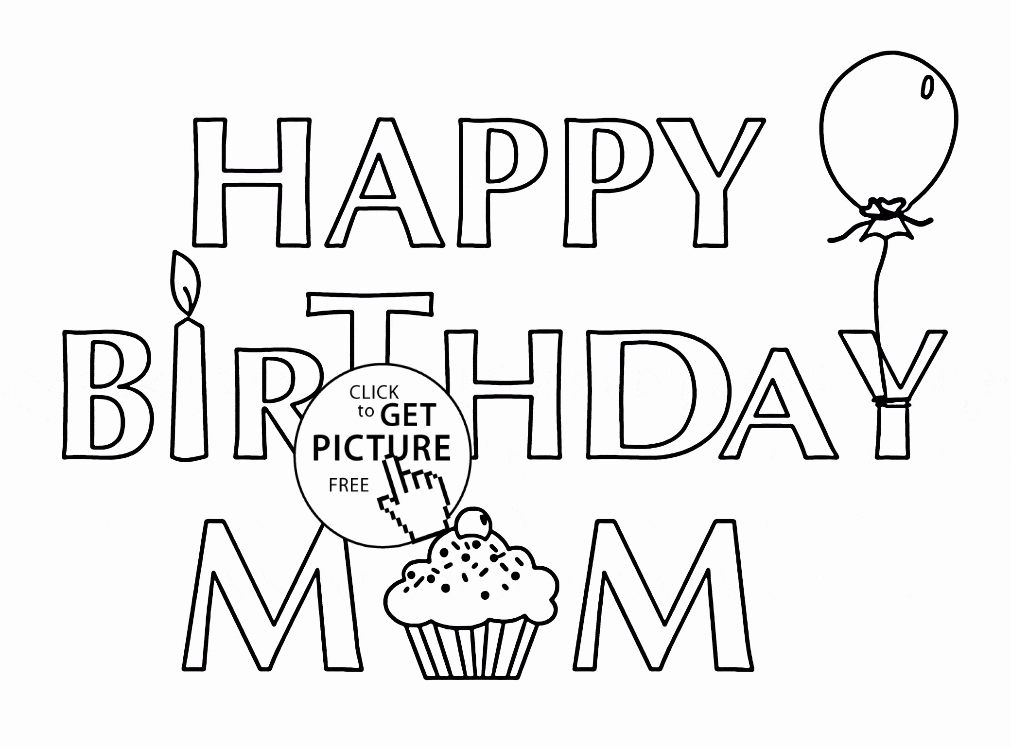 Happy Birthday Sister Coloring Pages At Getdrawings Com Free For