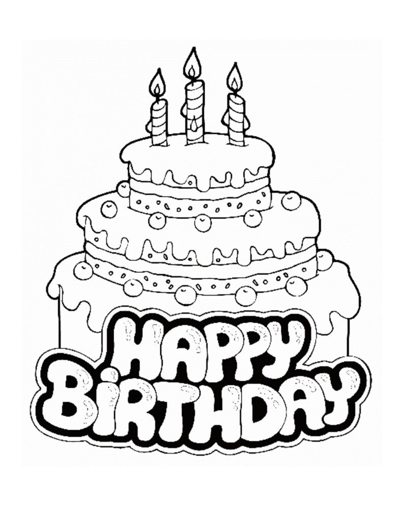 792x1024 Happy Birthday Coloring Pages For Sister Excellent Coloring Pages