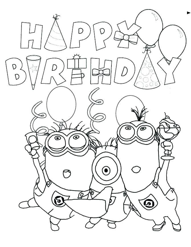 670x867 Happy Birthday Card Printable Disney Happy Birthday Card Printable