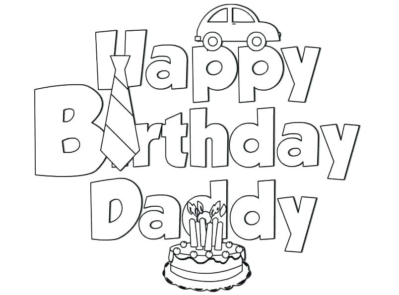 804x595 Happy Birthday Coloring Pages Hello Kitty Happy Birthday Coloring