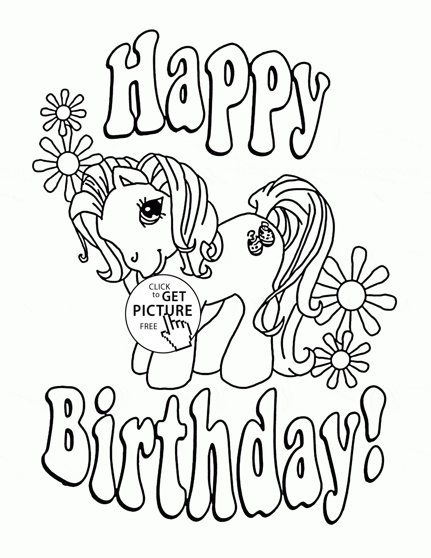 1480x1915 New Happy Birthday Printable Coloring Pages Printable Coloring