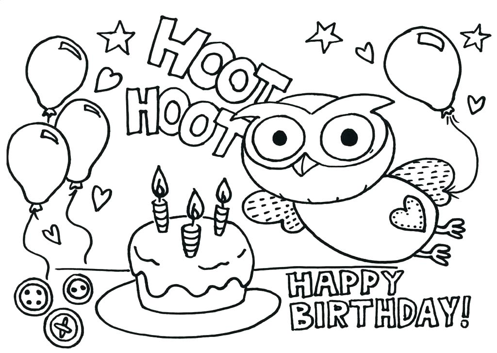 1024x727 Teachers Resources Coloring Pages Kids Coloring Happy Birthday