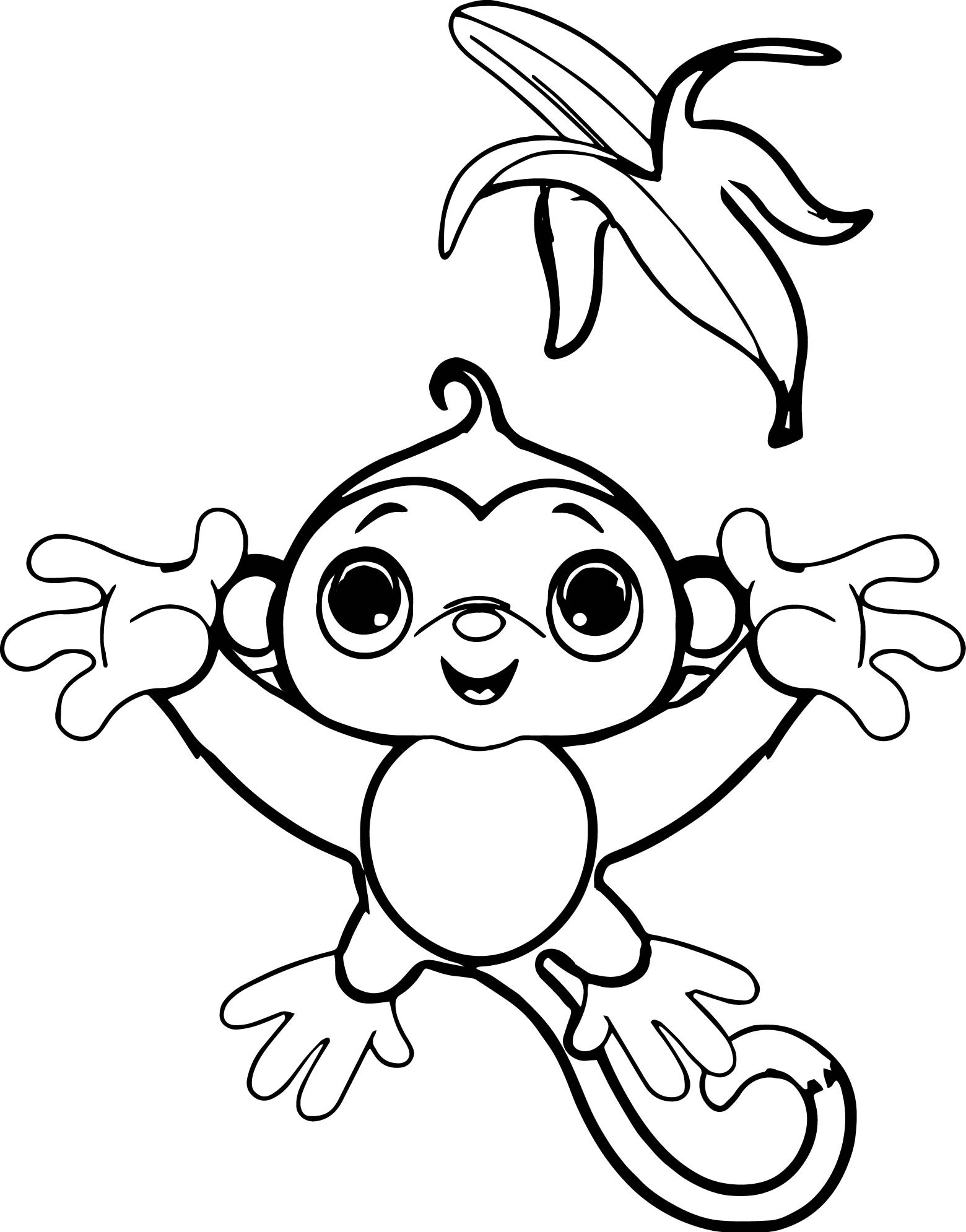 1560x1990 Fresh Monkey Page To Color Collection Printable Coloring Sheet