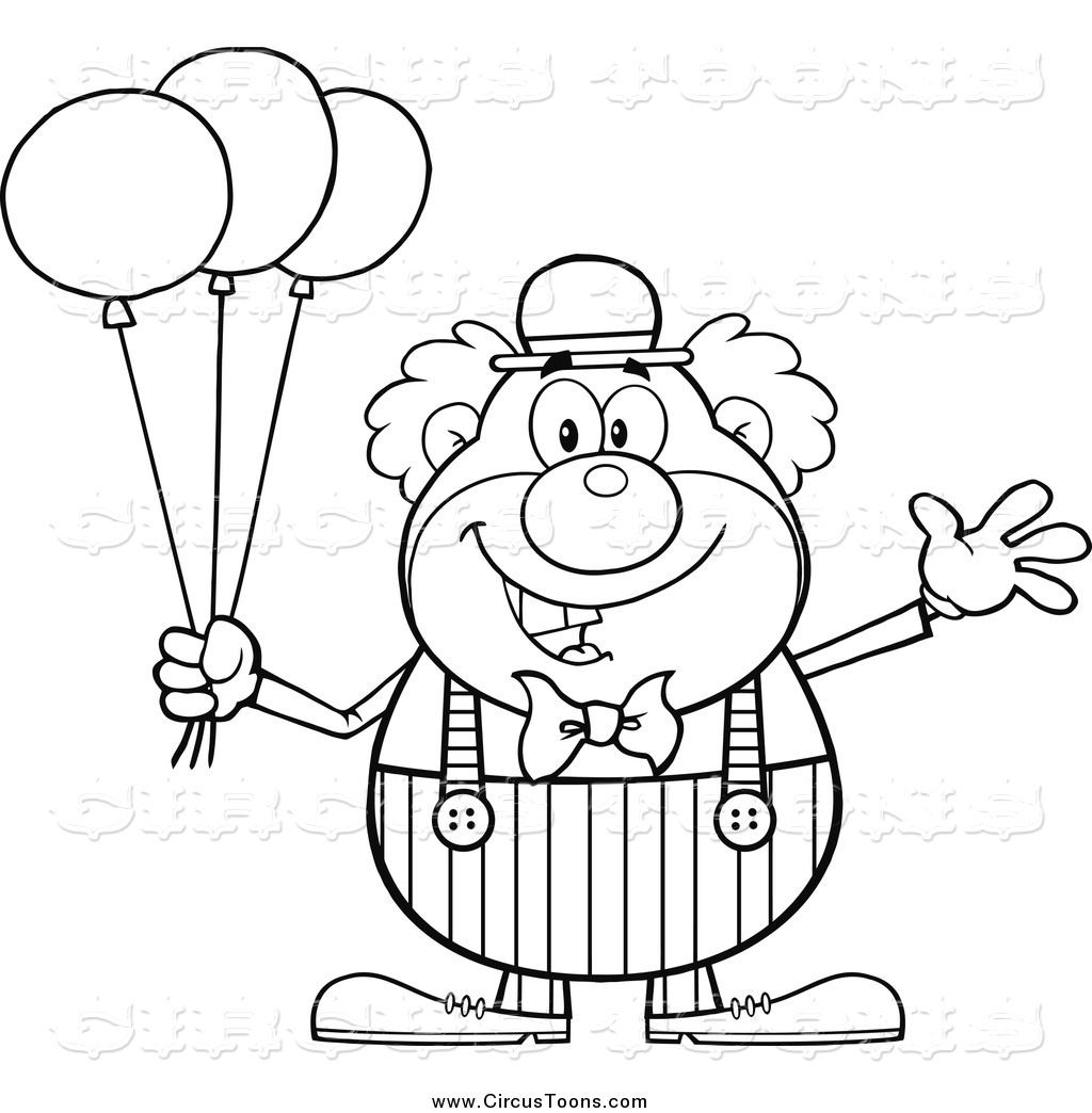 Happy Clown Coloring Pages At Getdrawings Com Free For Personal