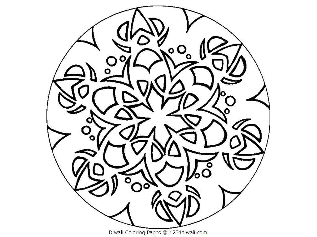 1024x768 Diwali Colouring Pages For Kids Acticity Diwali Diwali