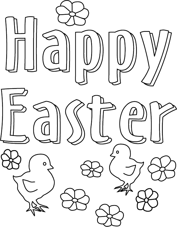 600x768 Happy Easter Coloring Pages Unique Free Printable Easter Coloring