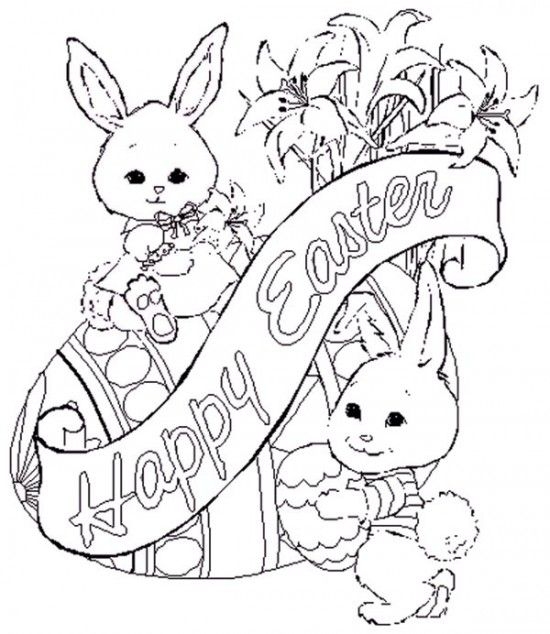 550x634 Print Happy Easter Coloring Pages Picture Picture
