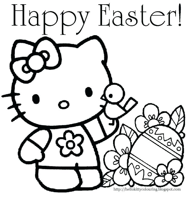 748x800 Free Easter Coloring Pages