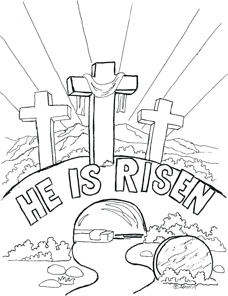 736x956 Happy Easter Coloring Pages