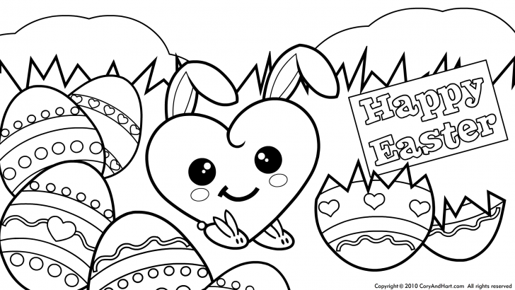 728x410 Easter Printable Coloring Pages
