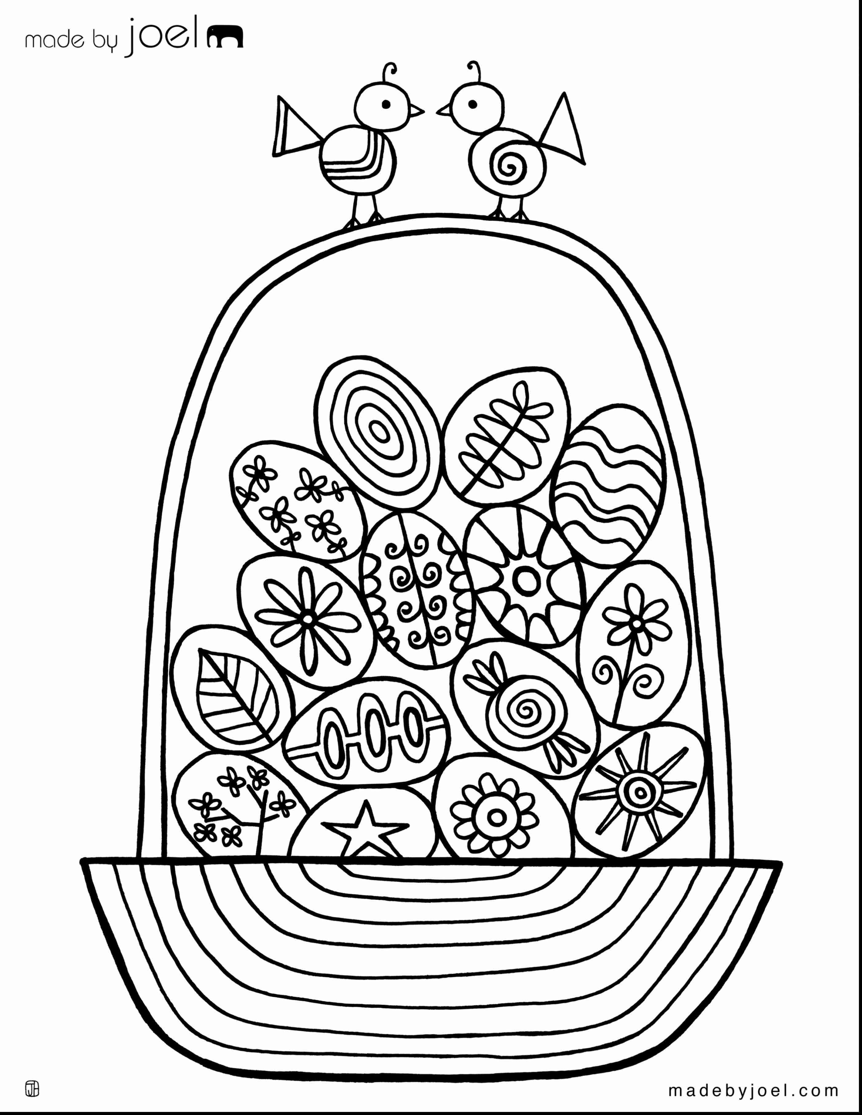 2805x3630 Happy Easter Printable Coloring Pages And Eggs For Beauteous