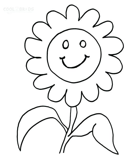Happy Face Coloring Page At Getdrawings Com