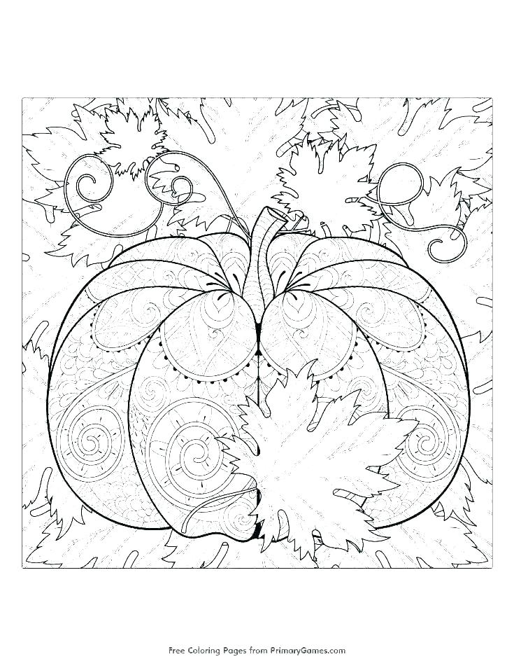 735x951 Fall Leaf Coloring Pages Happy Autumn With Autumn Leaf Coloring