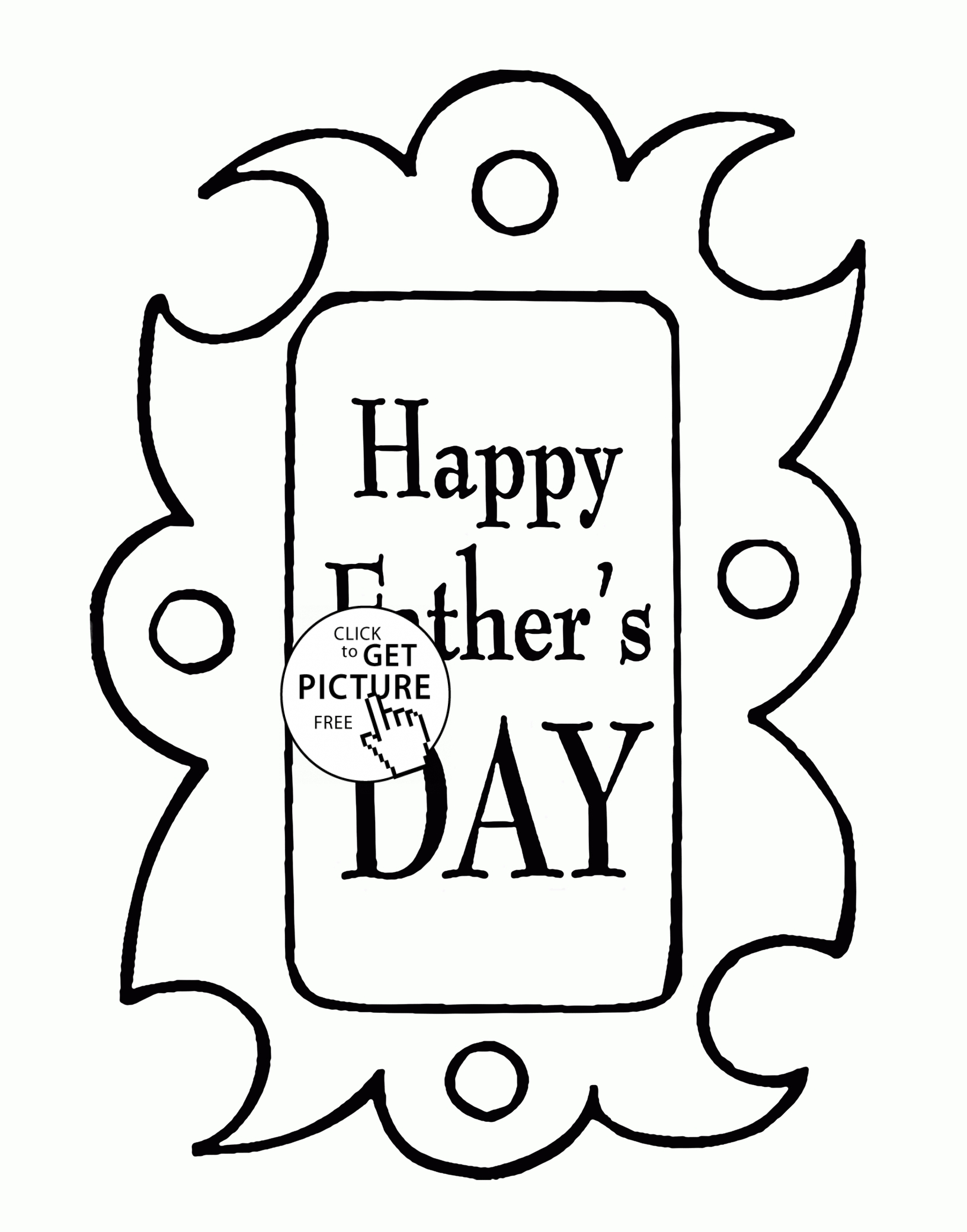 1632x2080 Happy Fathers Day Coloring Pages Printable Free Coloring