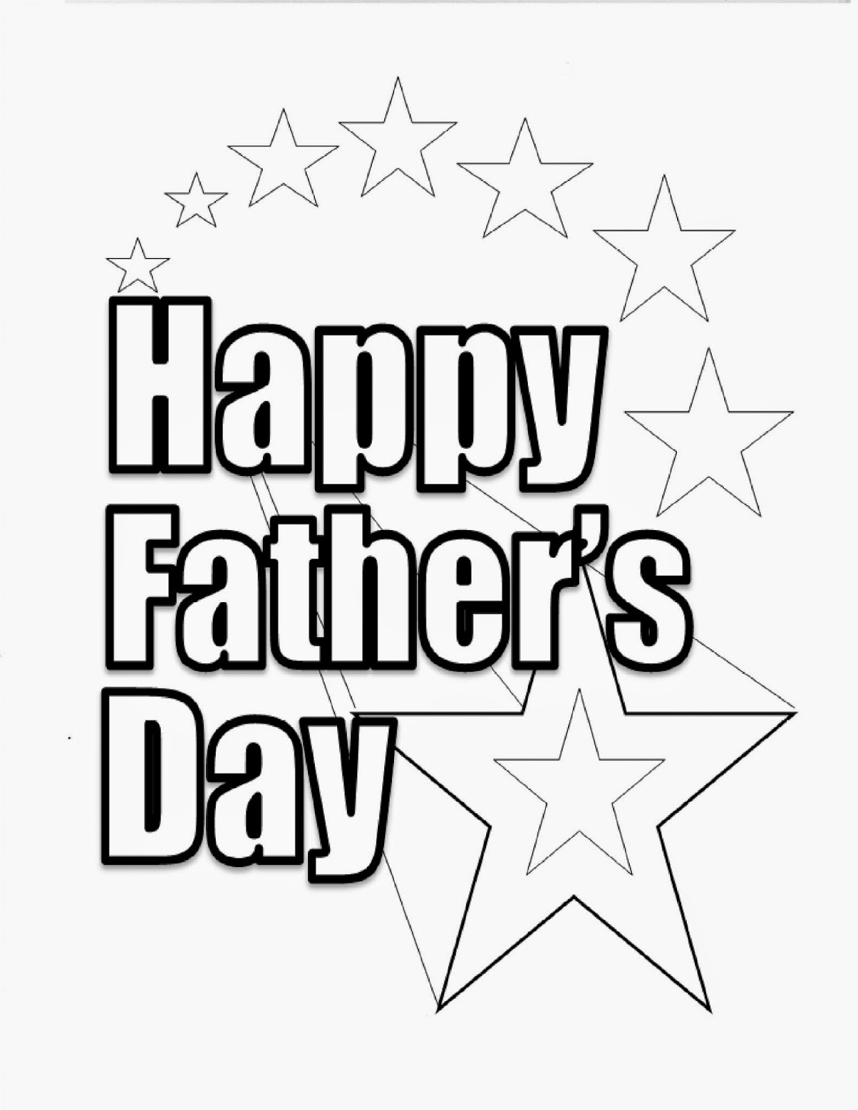 1237x1600 Happy Fathers Day Coloring Pages Father's Day Adult Coloring Page