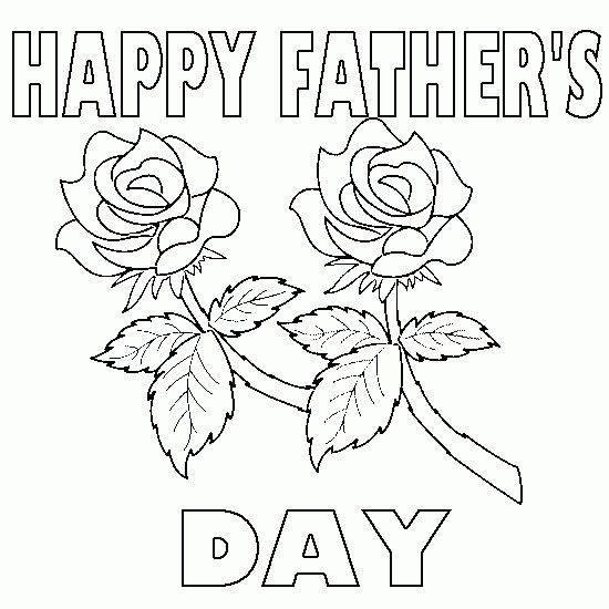 550x550 Happy Fathers Day Coloring Pages Printable