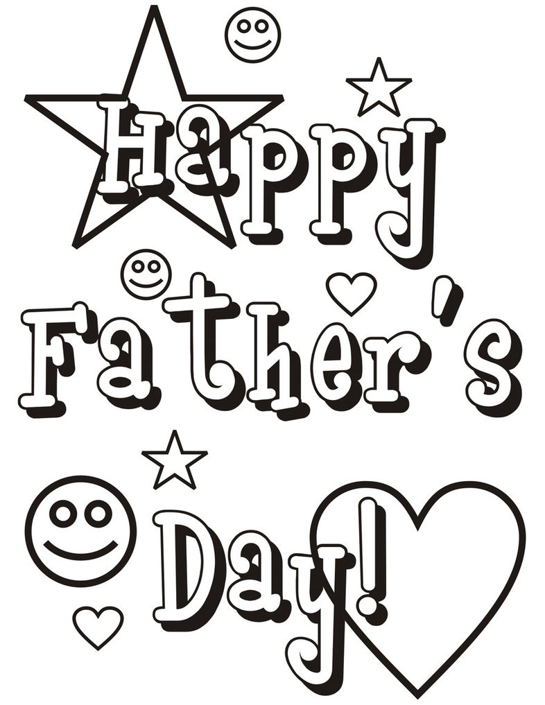 786x1017 Happy Fathers Day Coloring Pages Printable Free Coloring Pages