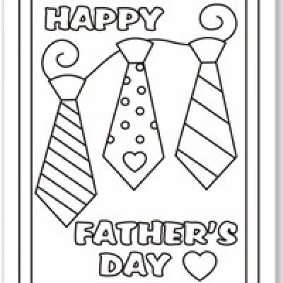 400x400 Happy Fathers Day Printable Coloring Pages Free Coloring Pages