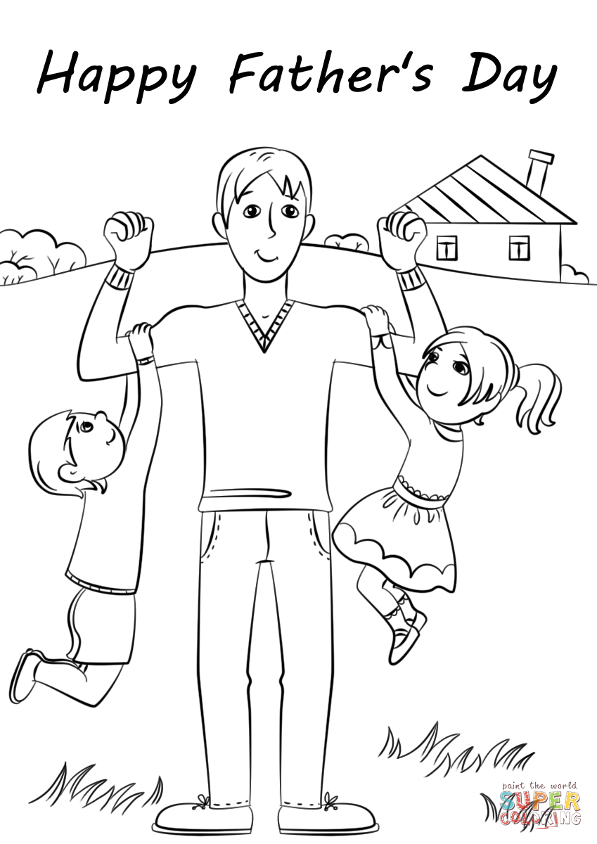 849x1200 Trend Happy Fathers Day Coloring Pages Printable Father S Page