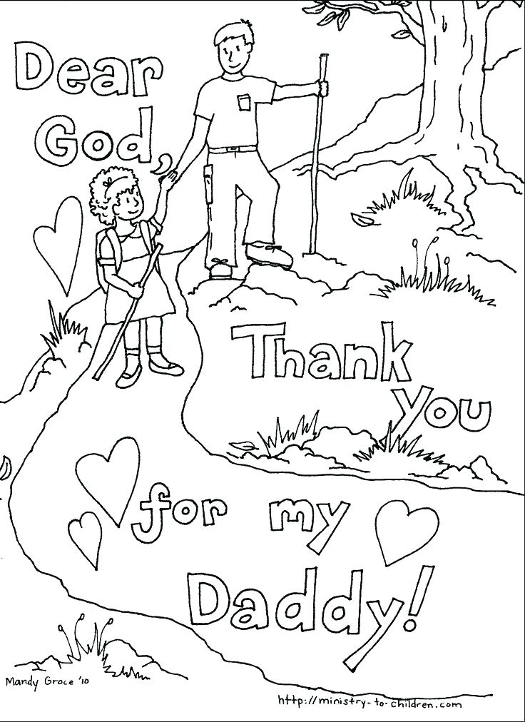 736x1012 Fathers Day Coloring Pictures