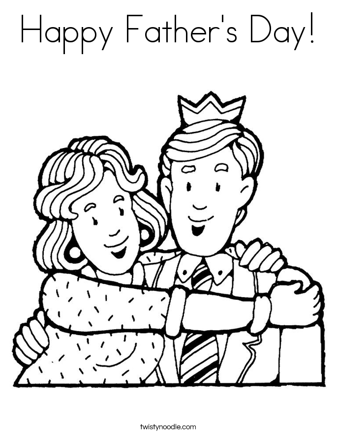 685x886 Father's Day Coloring Pages