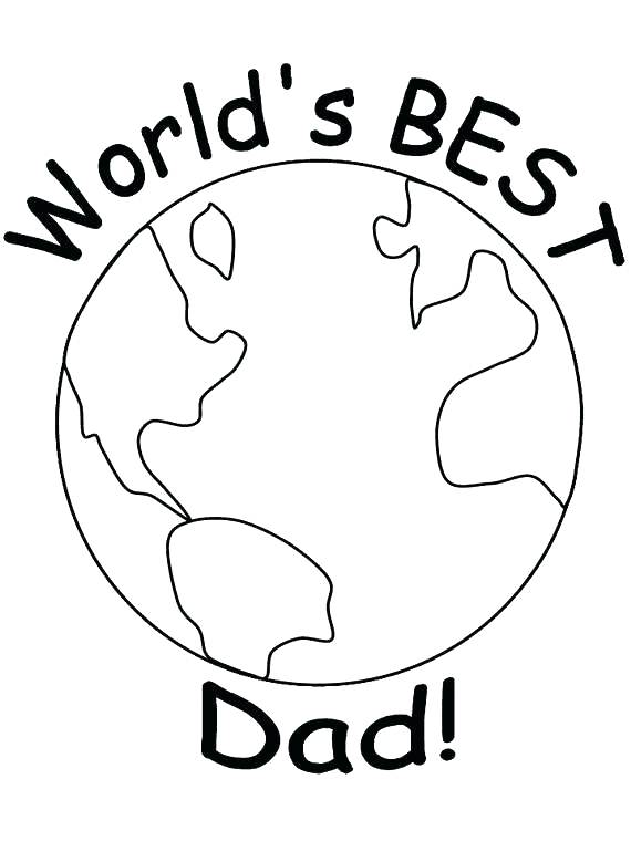 570x760 Free Fathers Day Coloring Pages Dad Will Love Printable Free