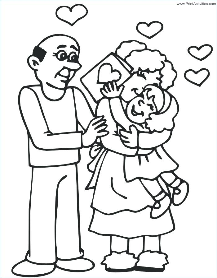 700x894 Grandpa Coloring Pages Grandpa Coloring Pages Perfect Day Gift Tag