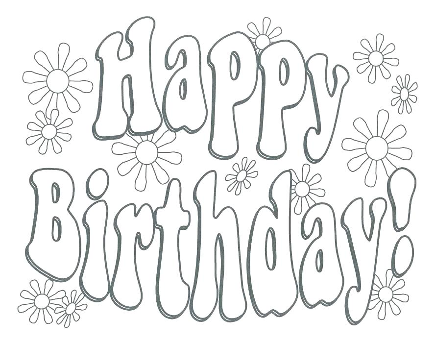 888x702 Happy Birthday Grandpa Coloring Pages This Is Happy Birthday