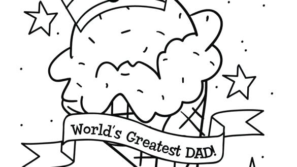 585x329 Happy Fathers Day Coloring Pages Adult Coloring Page Fathers Day
