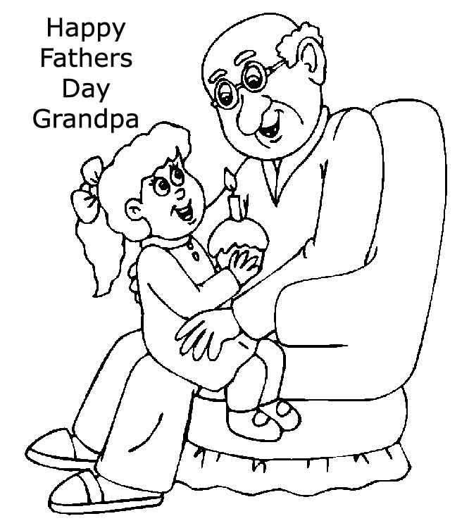 666x750 Happy Fathers Day Grandpa Clipart