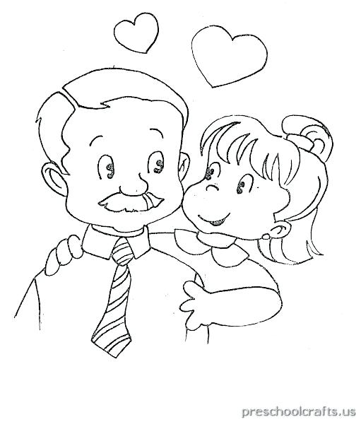 511x597 Fathers Day Coloring Pages For Kids Free Printable World Fathers