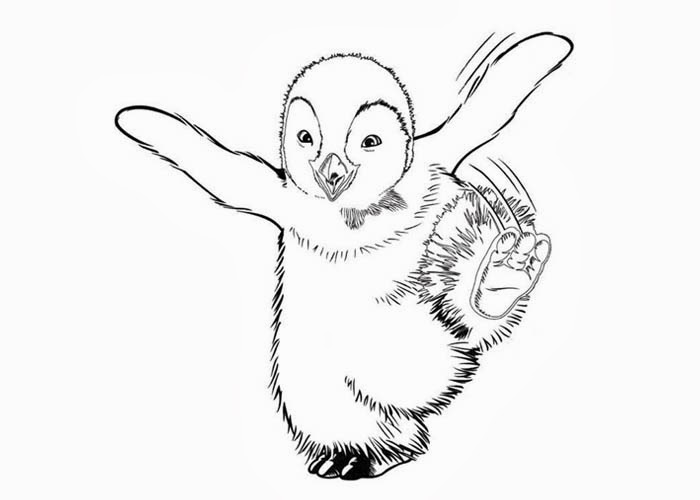 700x500 Happy Feet Coloring Pages Free Coloring Pages And Coloring Books