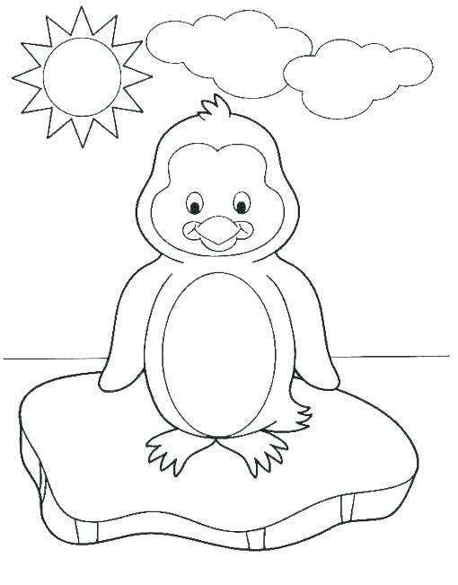 510x651 Baby Feet Coloring Pages Happy Feet Coloring Pages Creyoco