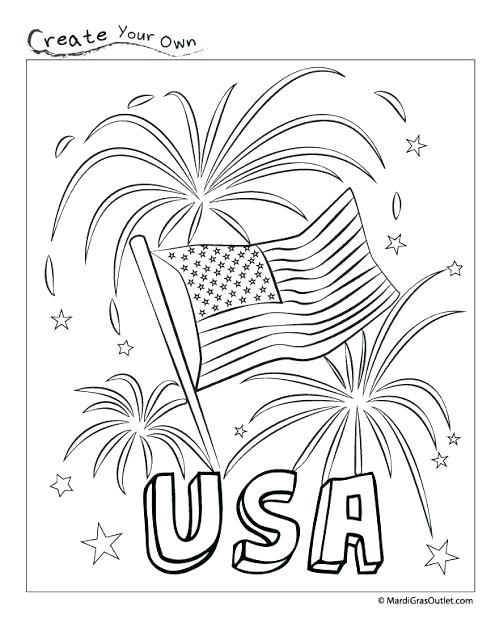 495x640 Free Printable Of July Coloring Pictures Hat Pages On New Year