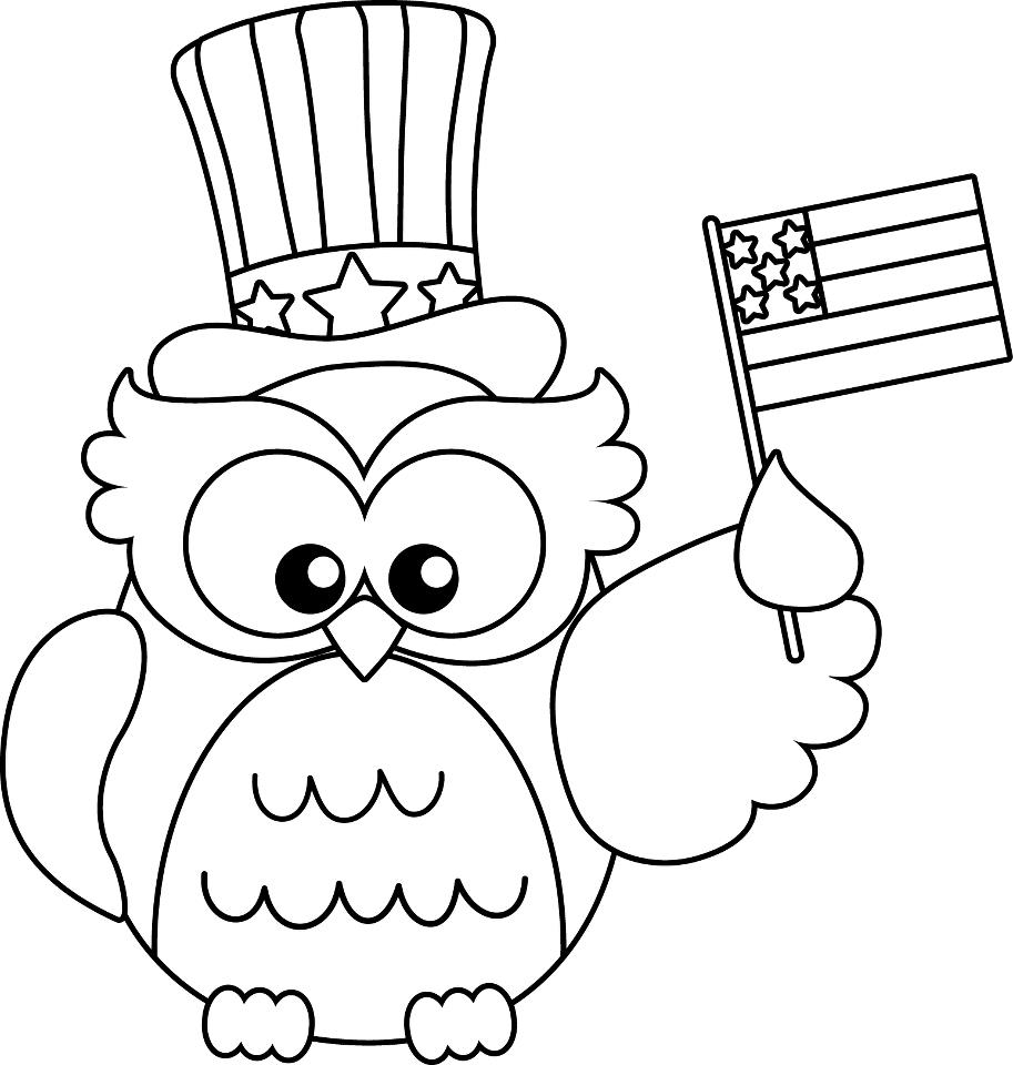 913x960 Independence Day Of July Coloring Page For Kids Unusual Pages