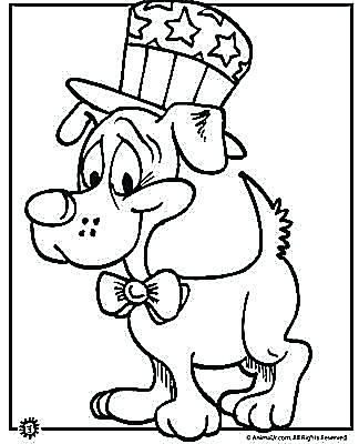 324x400 Last Chance Fourth Of July Coloring Pages To Print Happy