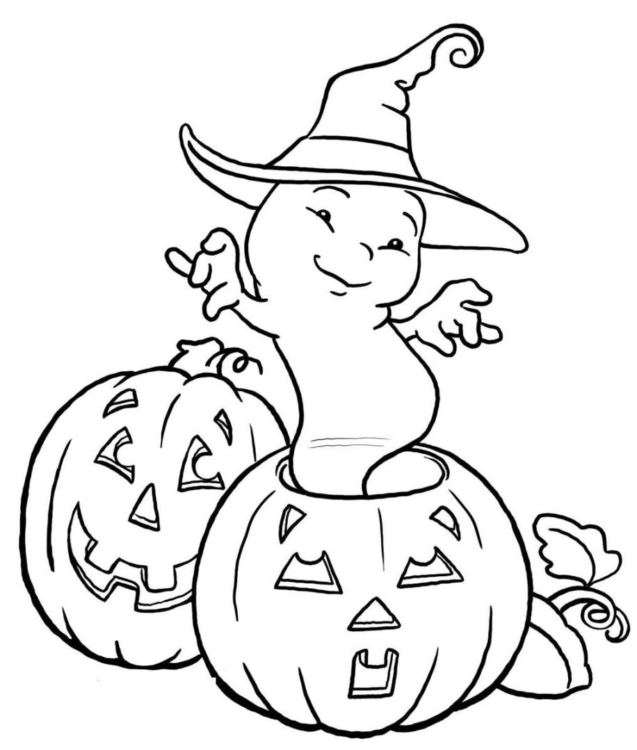 916x1079 Unique Ghost Coloring Sheets Wonderful Pumpkin