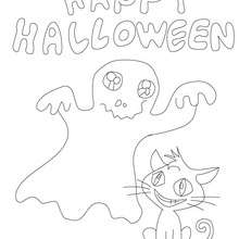 220x220 Witch Black Cat Coloring Pages