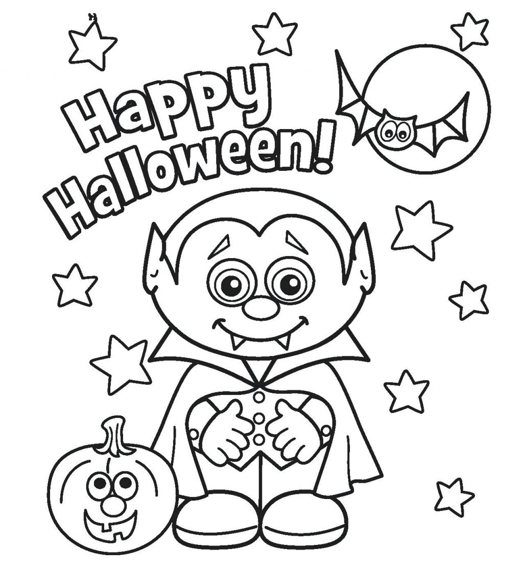 1024x1125 Coloring Pages Coloring Pages Halloween Free Happy Pictures Best
