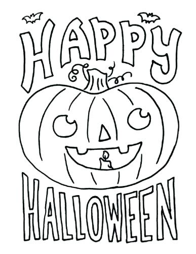387x500 Coloring Pages Halloween Free Stylist Design Free Printable