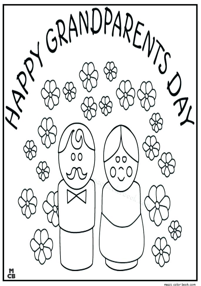 685x975 Grandparents Coloring Page Happy Grandparents Day Coloring Pages