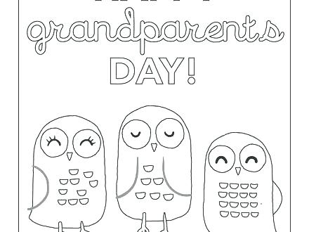 440x330 Grandparents Coloring Pages Happy Grandparents Day Coloring Pages