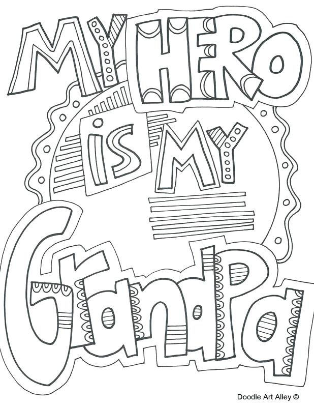 618x800 Grandparents Day Coloring Page Picture Happy Grandparents Day