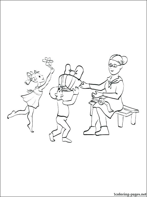 560x750 Happy Grandparents Day Coloring Pages Grandma Coloring Pages Happy