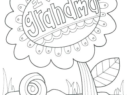 440x330 Happy Grandparents Day Coloring Pages Grandparents Day Coloring