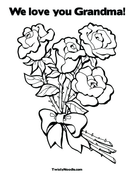 468x605 Mothers Day Coloring Pages For Grandmothers Happy Grandparents Day